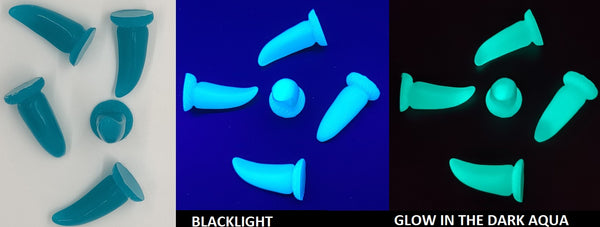 Glow in the Dark UV Large K9 Claws *Sold per claw*