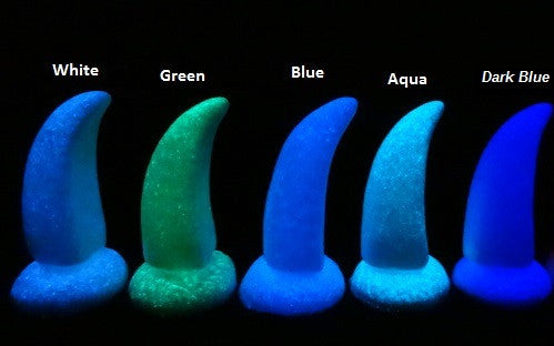 Glow in the Dark UV Solid Large Raptor Claws *Sold Per Claw*