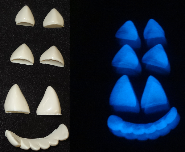Glow in the Dark Manokit Teeth