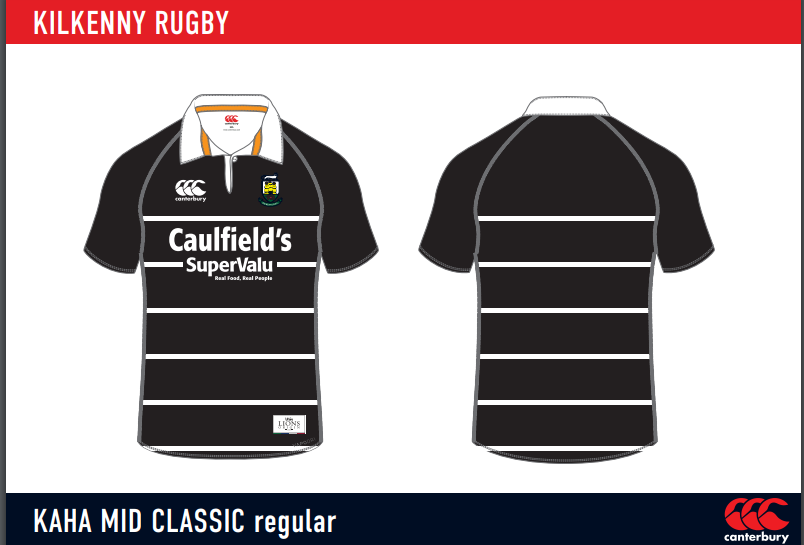 "Kilkenny RFC ""Caulfileds"" Minis Jerseys *NEW* 2020/2021"