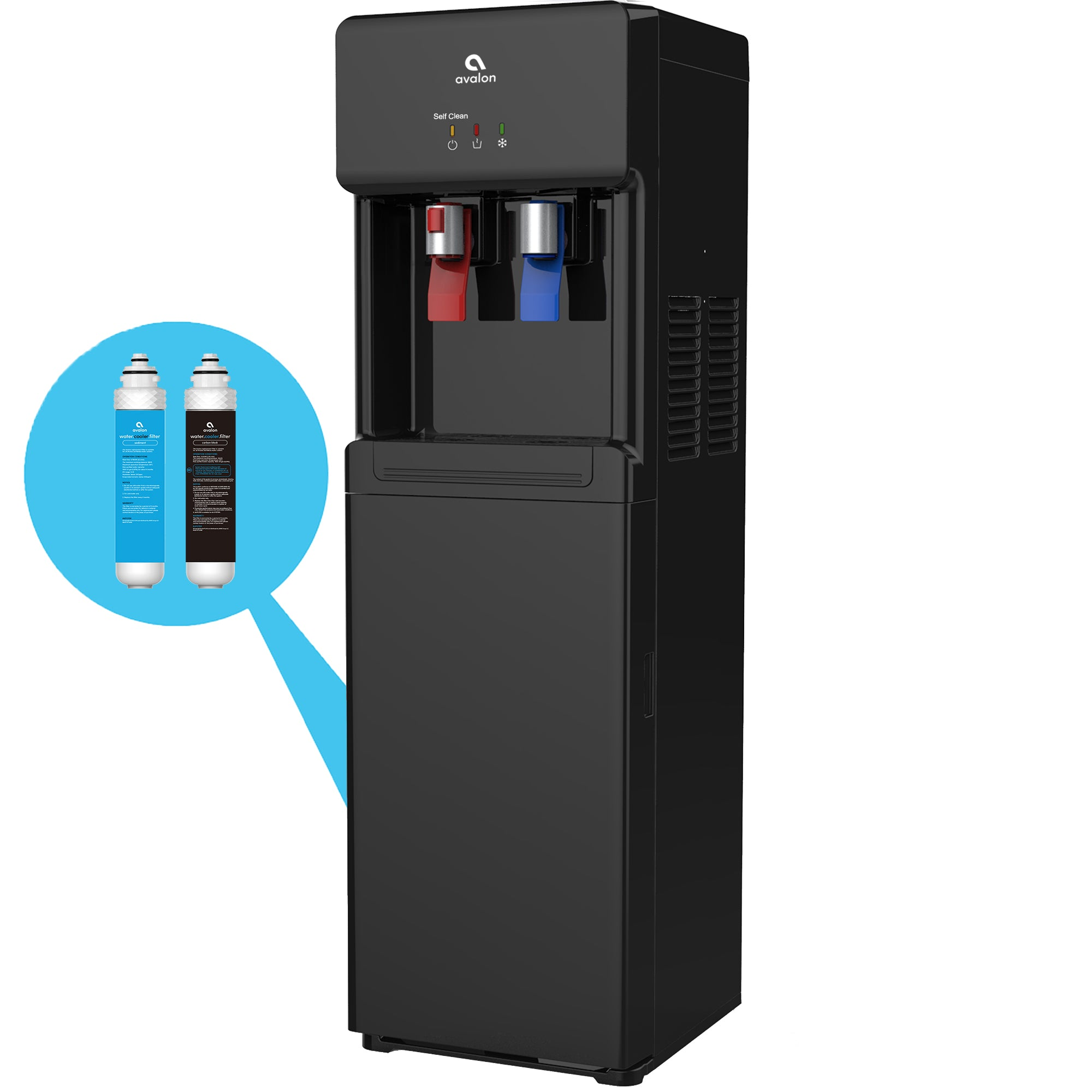 Avalon Self-Cleaning Bottleless Hot/Cold Water Cooler