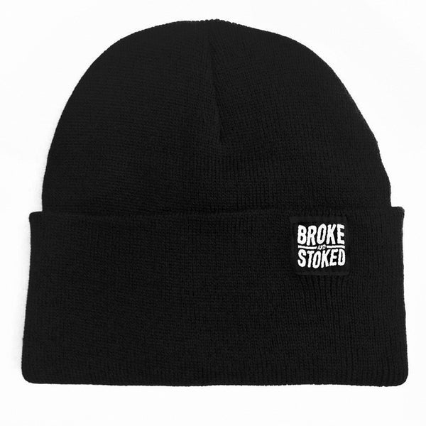 Broke And Stoked Beanie