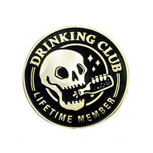 Drinking Club Lapel Pin