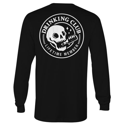 Drinking Club Long Sleeve