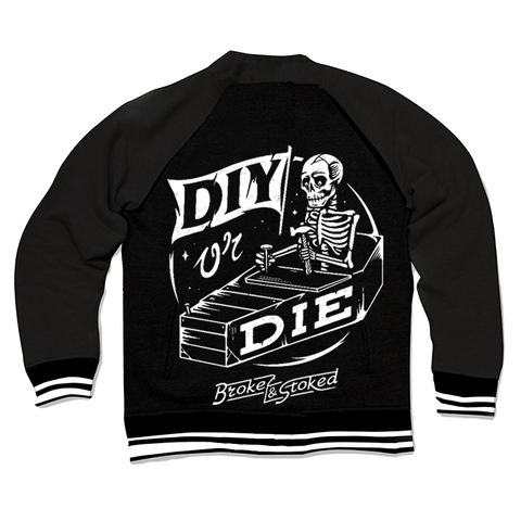 DIY OR DIE - VARSITY JACKET