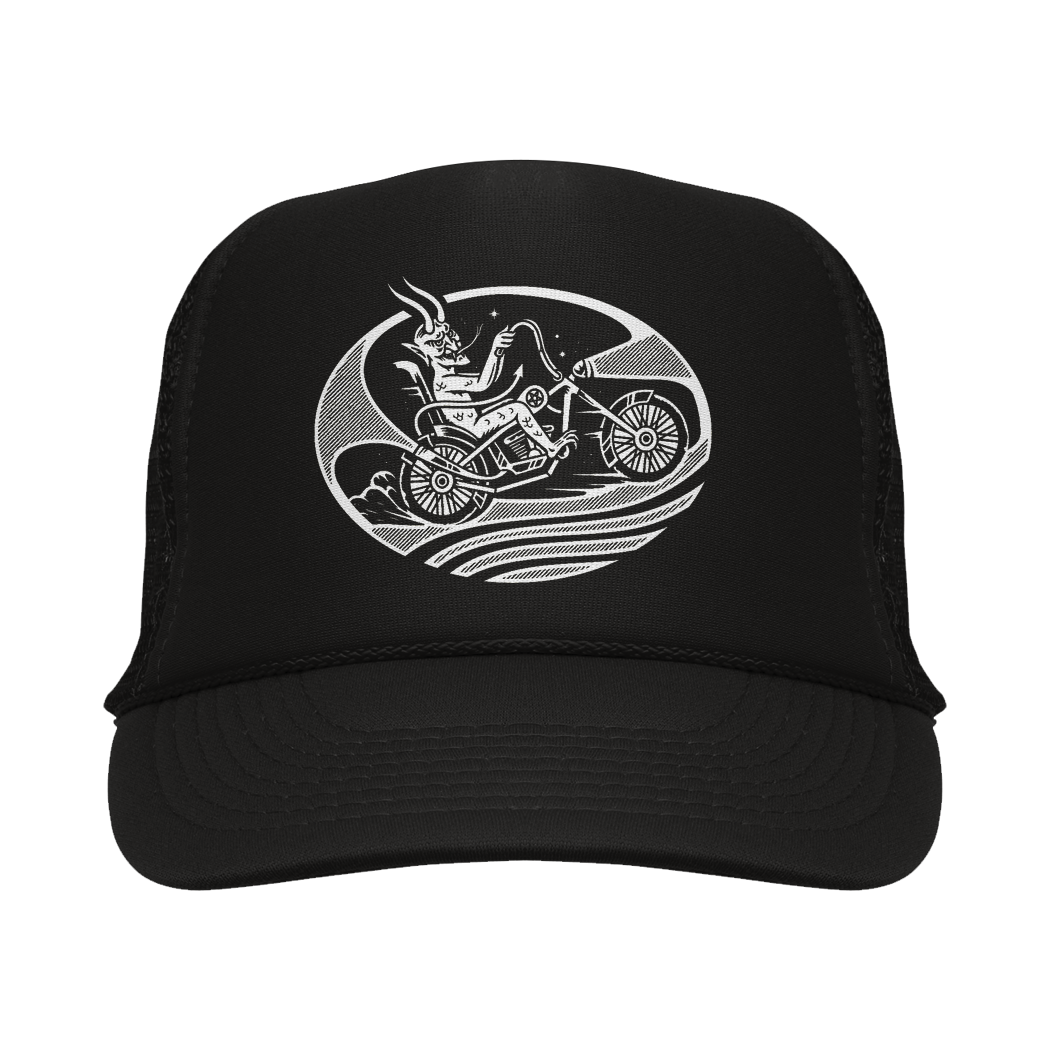 Devil's Ride Trucker Hat