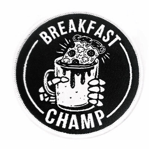 Breakfast Champ Patch