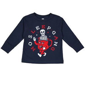 NO SLEEP GANG - TODDLER LONG SLEEVE TEE
