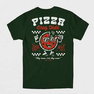 Pizza Chez Dédé - Forest Green Tee