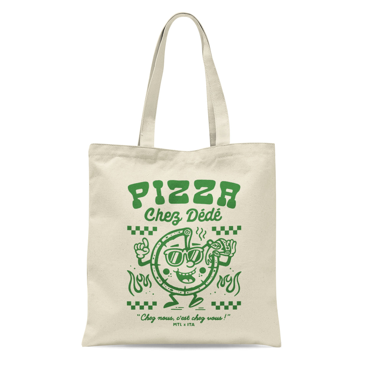 Pizza Chez Dédé - Tote Bag