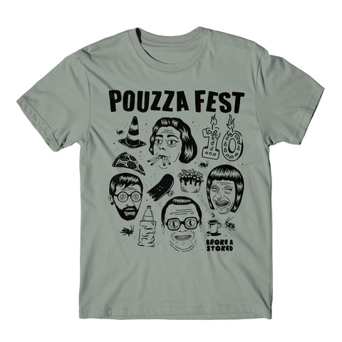 Pandemic Pouzza Friends Tee