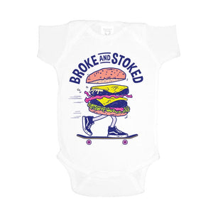 Burger Baby Suit - White