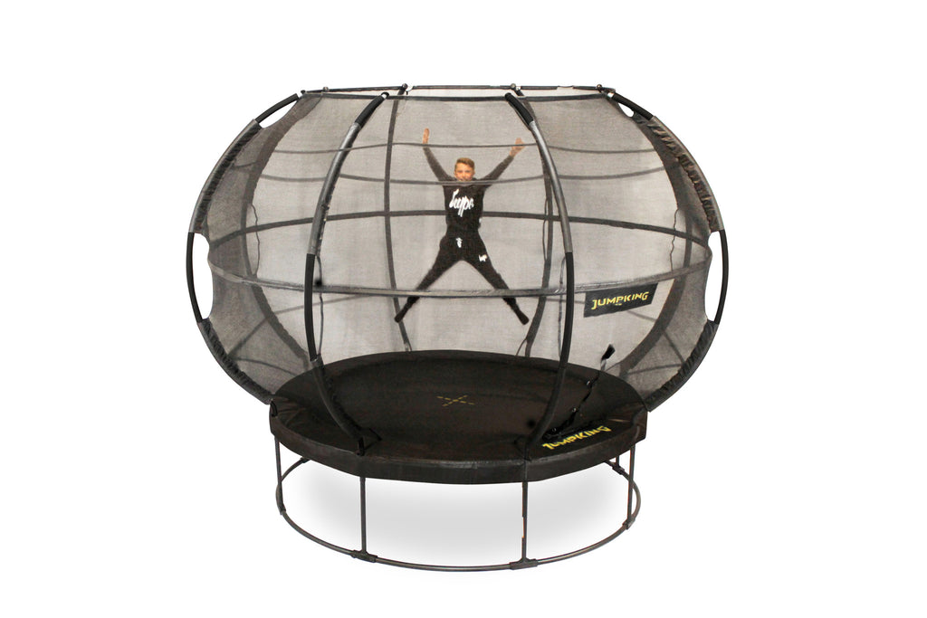 The future of trampolining is here with the Zorbpod from Jumpking!