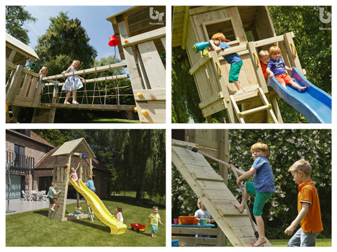 Climbing Frame Towers without Swing Arms