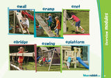 Blue Rabbit climbing frame accessory modules