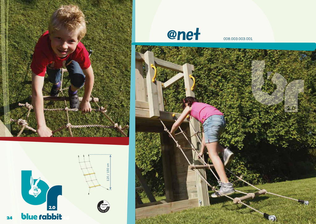 Net Module for Blue Rabbit Climbing Frames
