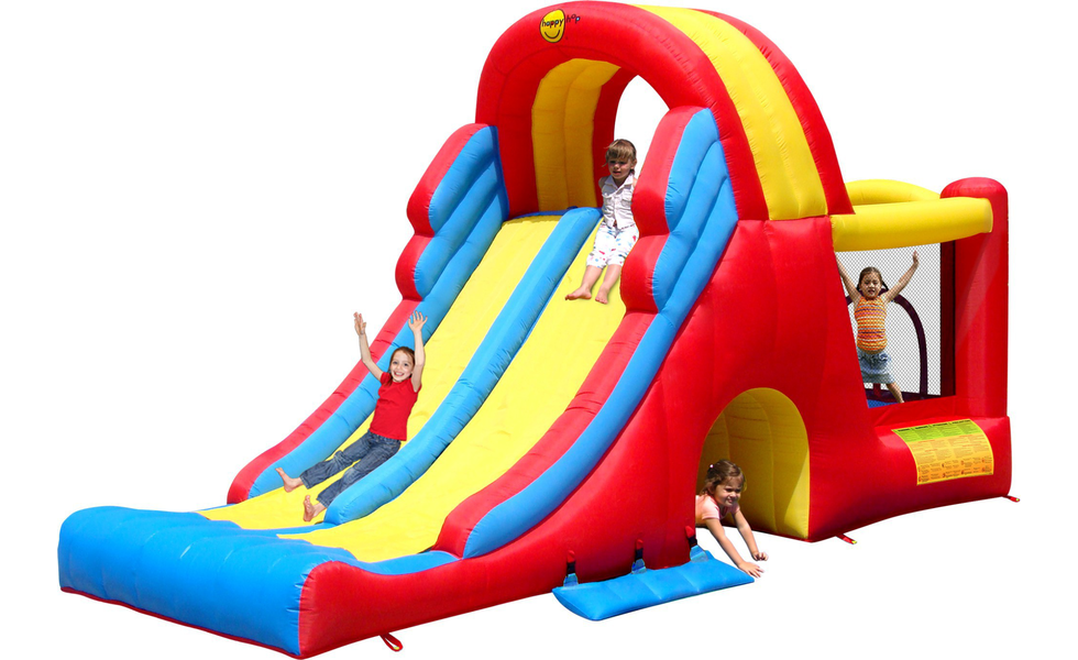 Double Slide Mega Combo Bouncy Castle