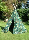 Camouflage wigwam for kids