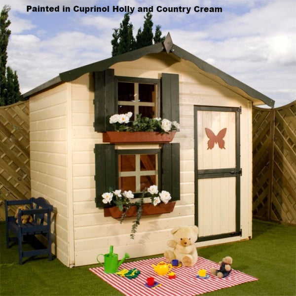 7 X 5 Double Storey Wooden Playhouse Garden Toy Store