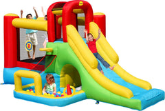 Adventure Combo bouncy castle with slide and ball pit