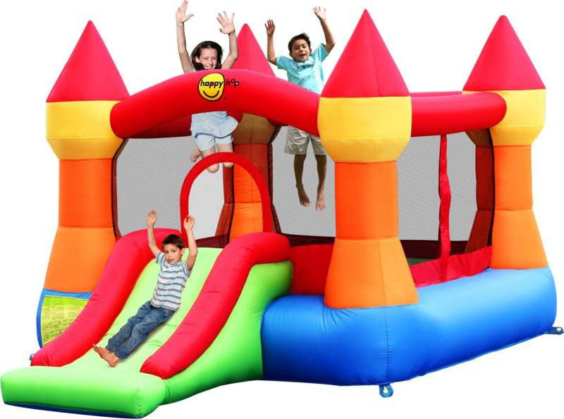 Large Turret bouncy castle