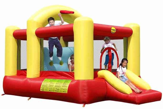 Adventure Combo - 14' Bouncy Castle with Obstacle Course