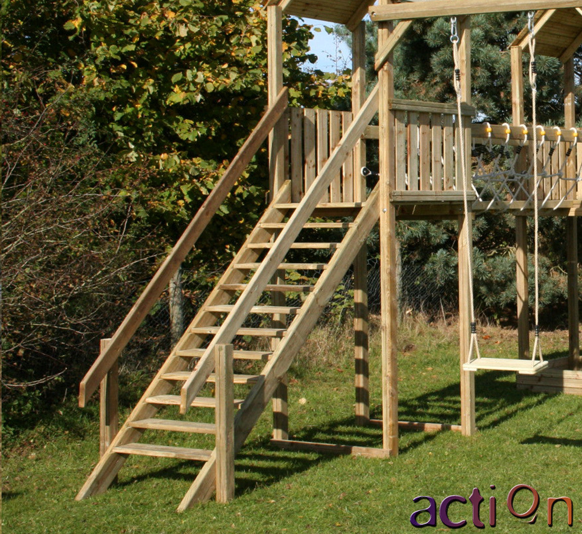 Staircase for Action Climbing Frames