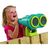 Large binoculars for wooden climbing frames