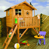 Tulip wooden playhouse tower by Mercia