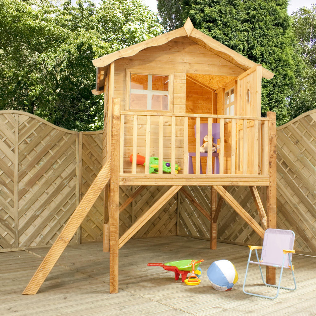 5' x 5' Wooden 'Tulip' Playhouse (Tower)