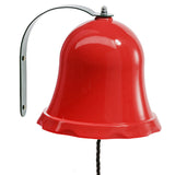 Bell for attachment to wooden climbing frames or playhouses