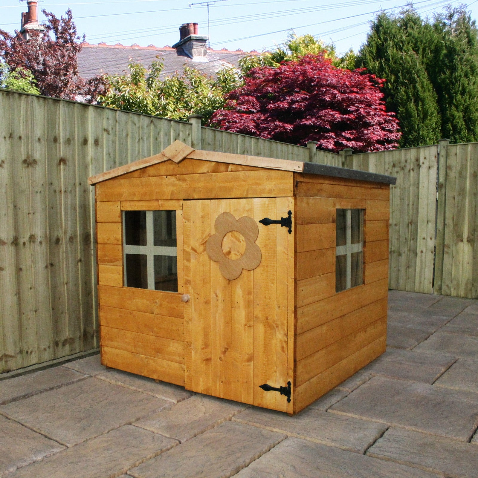 5' X 5' Wooden 'Bluebell' Playhouse