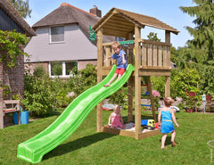 Jungle Gym Cottage Climbing Frame Tower (1.45m platform height)