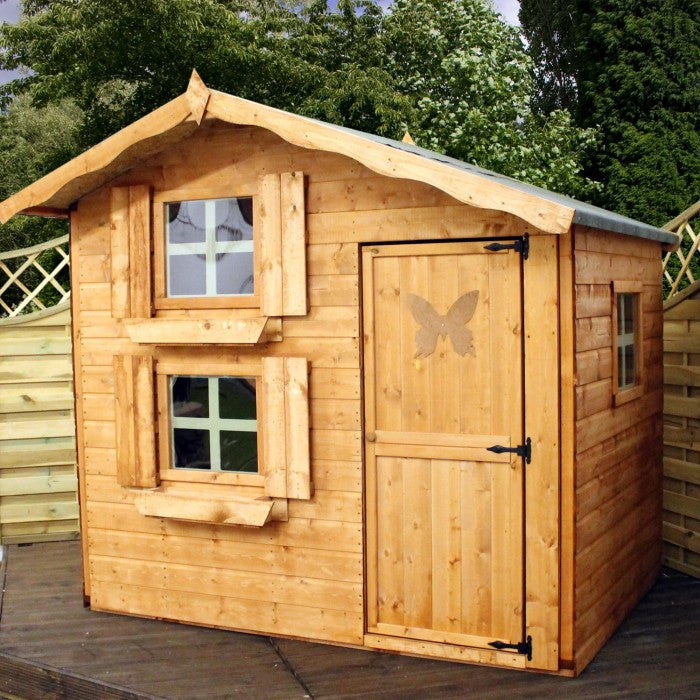 7' x 5'  Double Storey Wooden Playhouse