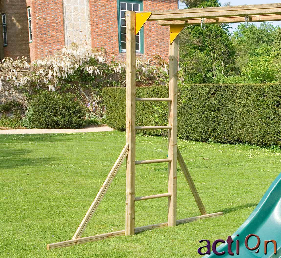 monkey bars for action climbing frames garden toy store. Black Bedroom Furniture Sets. Home Design Ideas