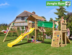 Jungle Gym Cottage plus Bridge and Swing Arm