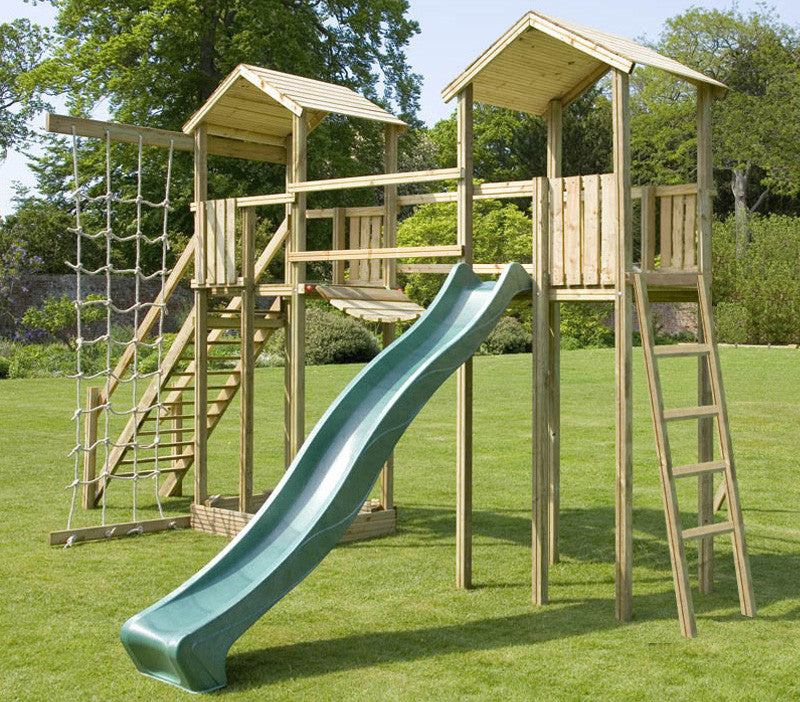 Action Arundel Twin Towers Wooden Climbing Frame (No Swing Arm)