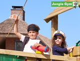 Jungle Gym Cottage Boat Climbing Frame