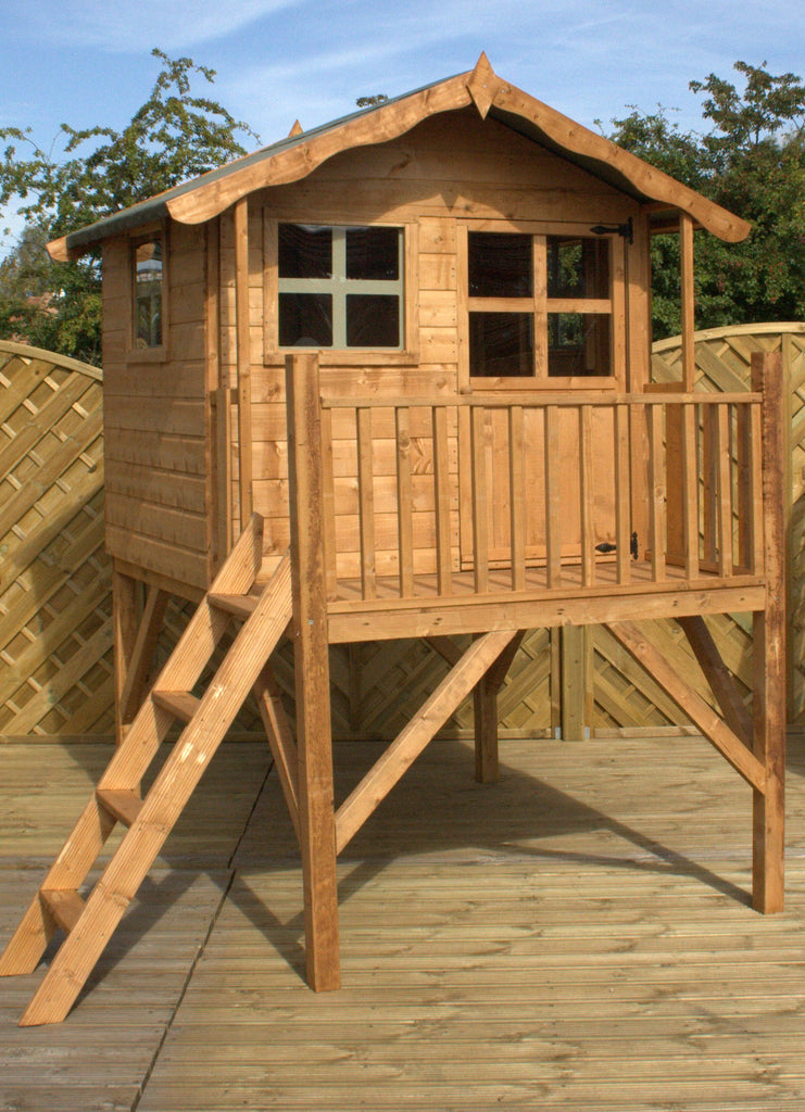 5' x 5' Wooden 'Poppy' Playhouse (Tower)