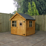 Snug wooden playhouse by Mercia