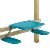 Picnic Table attachment for wooden climbing frames
