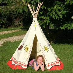 Cotton wigwam playtent