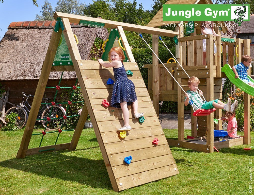 Jungle Gym Climb Module with single swing
