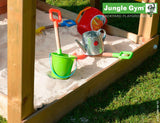 Jungle Gym Chalet Climbing Frame Tower (1.45m platform height)