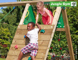 Jungle Gym Chalet Climbing Frame with Climb Module