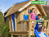 Jungle Gym Crazy Playhouse Tower with Slide and Swing Arm