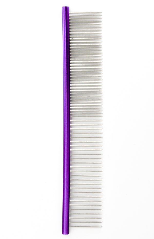 Small Metal Comb | Purple