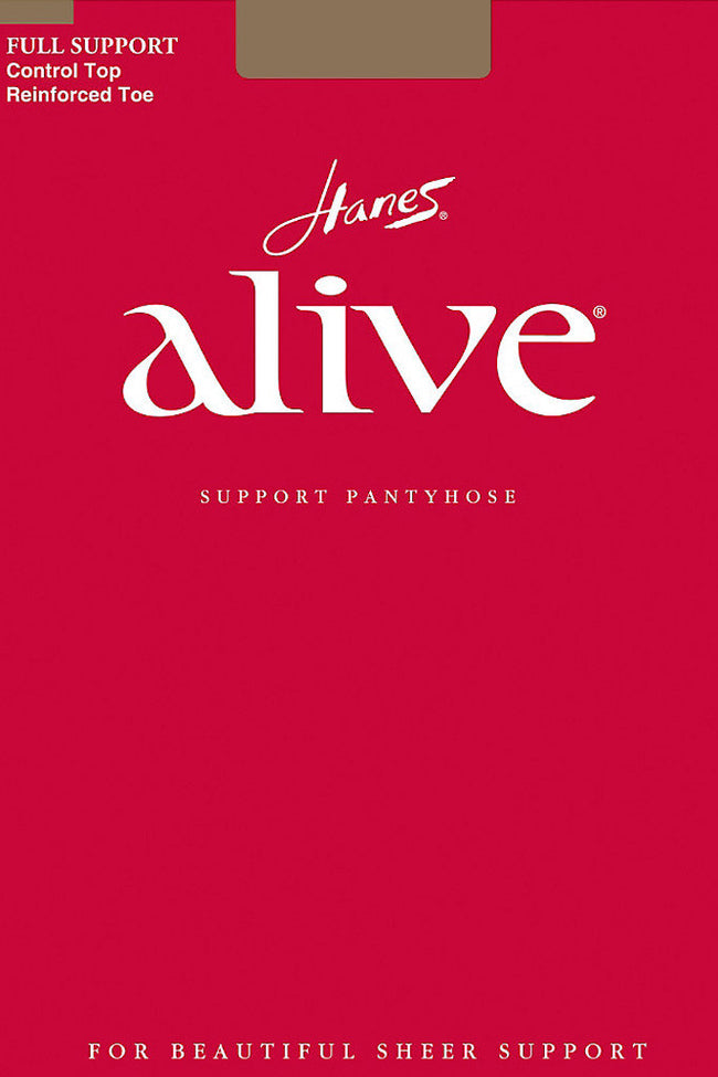 Hanes Alive 810 Support Pantyhose - Spike Angel - 1
