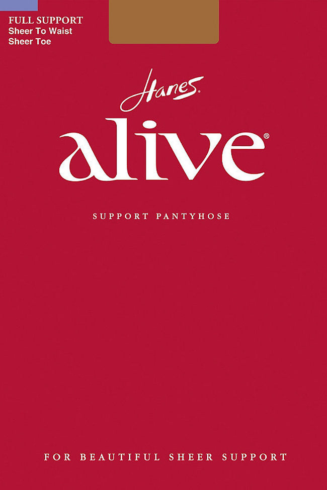 Hanes Alive 811 Support Pantyhose - Spike Angel - 1