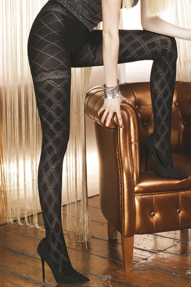 Trasparenze Aragonite Fashion Tights - Spike Angel - 2